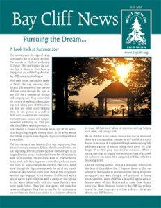Fall 2007 Newsletter