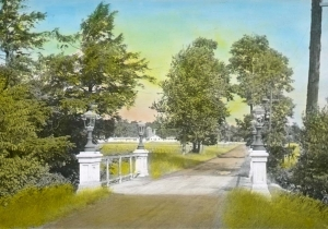Historic Photo - Front Gate in Color